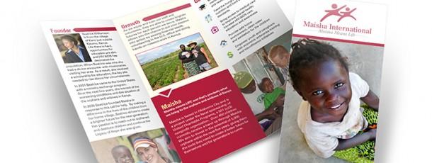 Maisha Brochure